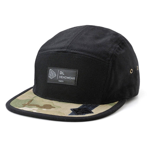 "Omega 5Panel Camp cap ""noir multicam"""