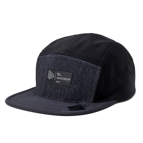 "Omega 5Panel Camp cap ""black pattern"""