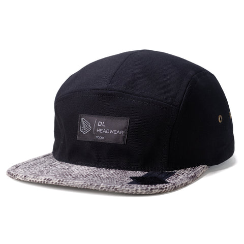 "Omega 5Panel Camp cap ""black snake"""