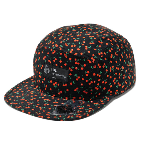 "Omega 5Panel Camp cap ""cherry"""