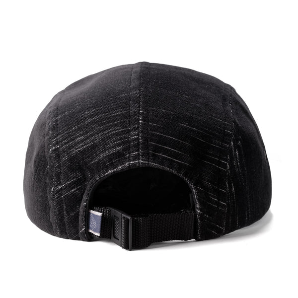 "Omega 5Panel Camp cap ""hidden black"""