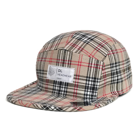 "Omega 5Panel Camp gorra ""nova check"""
