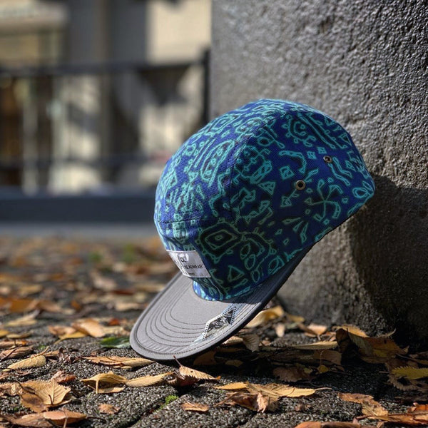 "Omega 5Panel Camp cap ""old hiker2"""