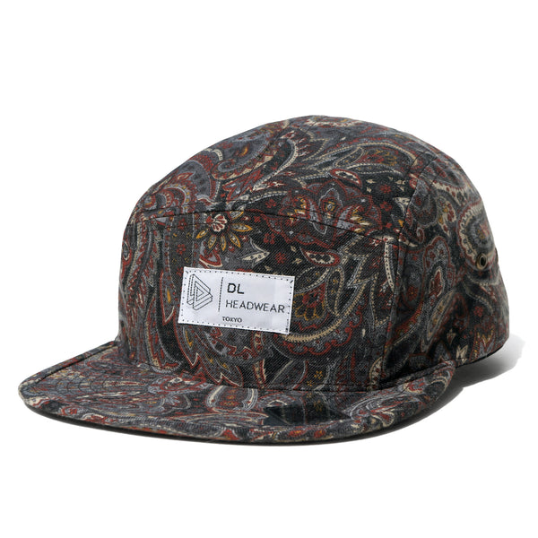 "Omega 5Panel Camp cap ""paisley grey"""