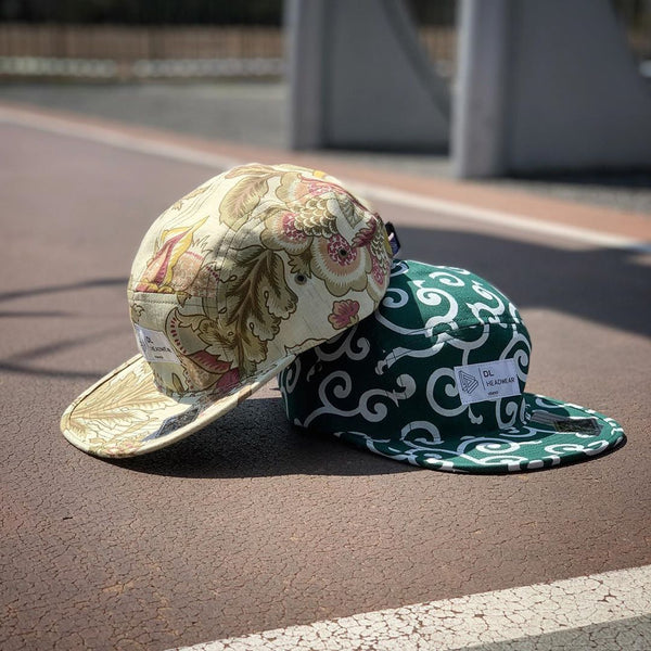 "Omega 5Panel Camp cap ""karakusa"""