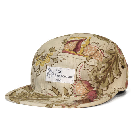 "Omega 5Panel Camp cap ""retro botanical"""