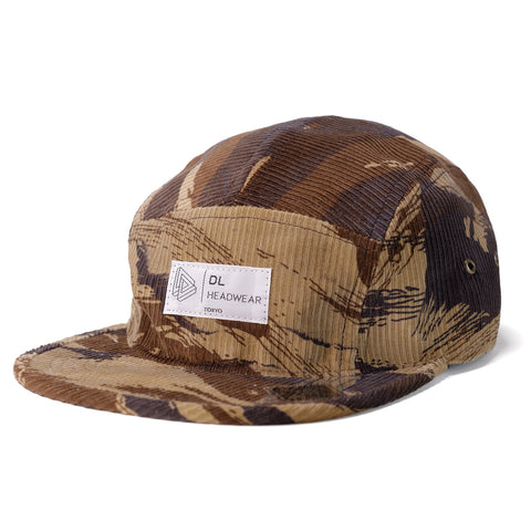 "Omega 5Panel Camp cap ""tigercamo cord"""