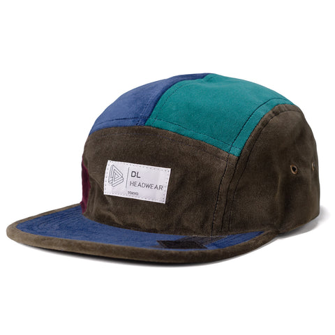 "Omega 5Panel Camp cap ""velour"""