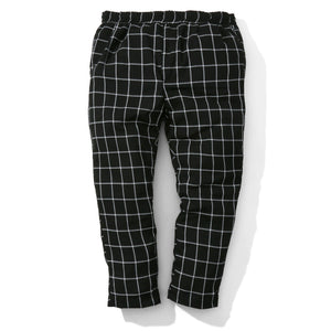 "Ideal Eazy Pant ""black check"""