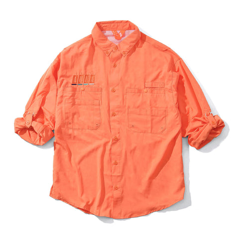 FTLXAQUA - Hotrod Fishing Shirt