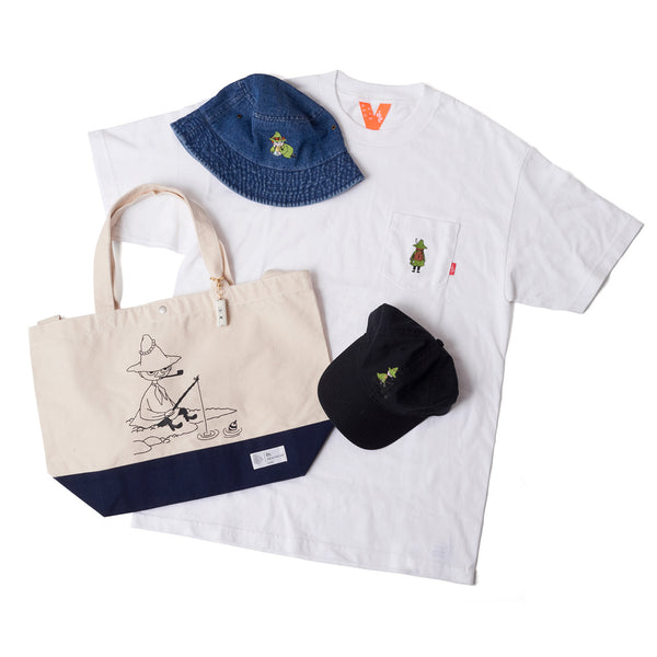 DL x Moomin - Fishing Canvas Tote Bag