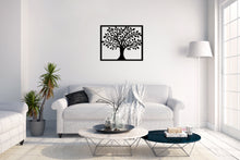Load image into Gallery viewer, Metal Wall Art Smart Tree