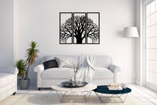 Load image into Gallery viewer, Metal Wall Art Tree With Branches 3 Peace Decor