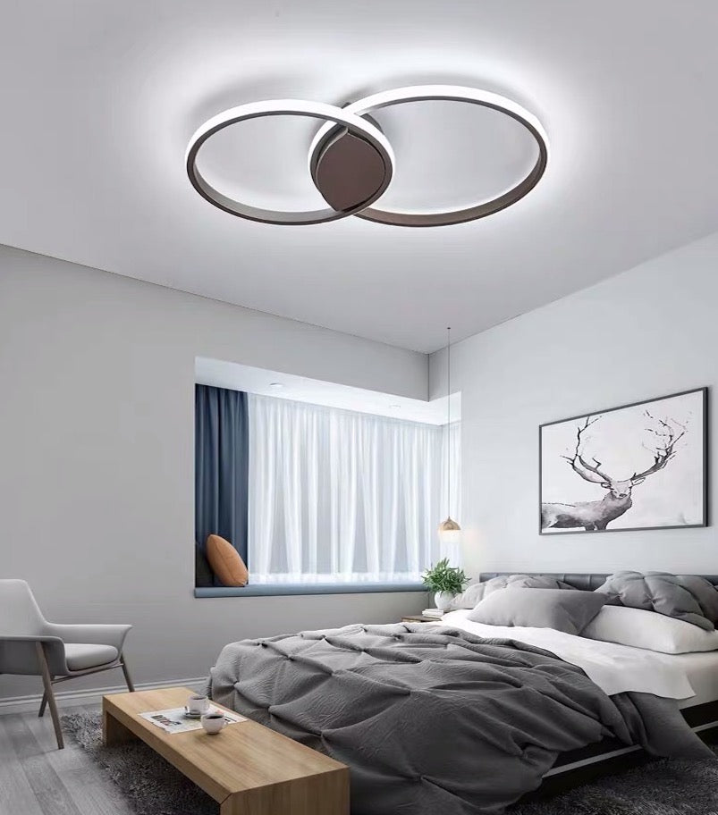 Circle LED Ceiling Light - Oia Blue