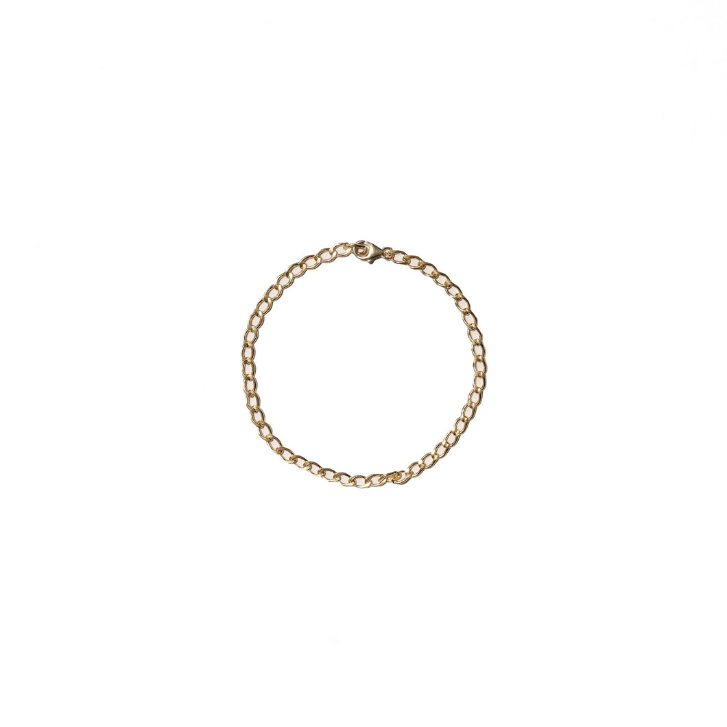 Road, road jewelry, jewelry, anklet, anklets, summer, gift, gift ideas, gifts for her, chain, chains, chain anklet, chain anklets, 14k, 14k gold-filled, 14k gold filled, gold filled, gold-filled, yellow gold, yellow gold anklet, Road Jewelry anklet
