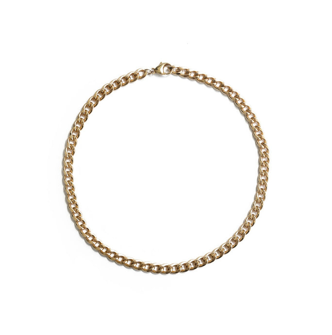 Jewelry, road, ROAD, road jewelry, ROAD jewelry, chains, chain, gold-filled chain, cuban link, gold filled, gold filled chain, cuban, 14K, 14k, 14k gold-filled, necklace, chain necklace, gold-filled chain necklace, yellow gold