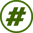 Post Our Hashtag Icon