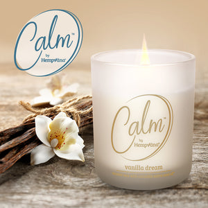 Calm Scented Candle - Vanilla Dream
