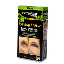 Load image into Gallery viewer, Box of Hempvana Eye Bag Eraser isolated on white background