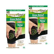 Load image into Gallery viewer, Two boxes of Hempvana Knee Relief isolated on white background
