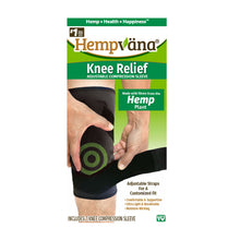 Load image into Gallery viewer, Box of Hempvana Knee Relief isolated on white background