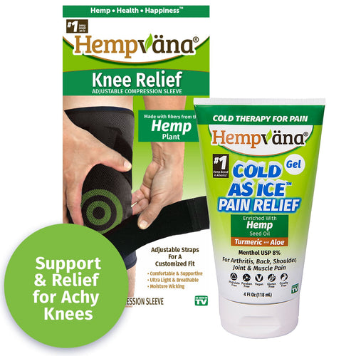 Cold As Ice Gel + Knee Relief