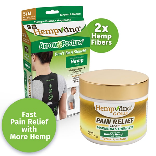 Gold Pain Cream + Dlx Arrow Posture