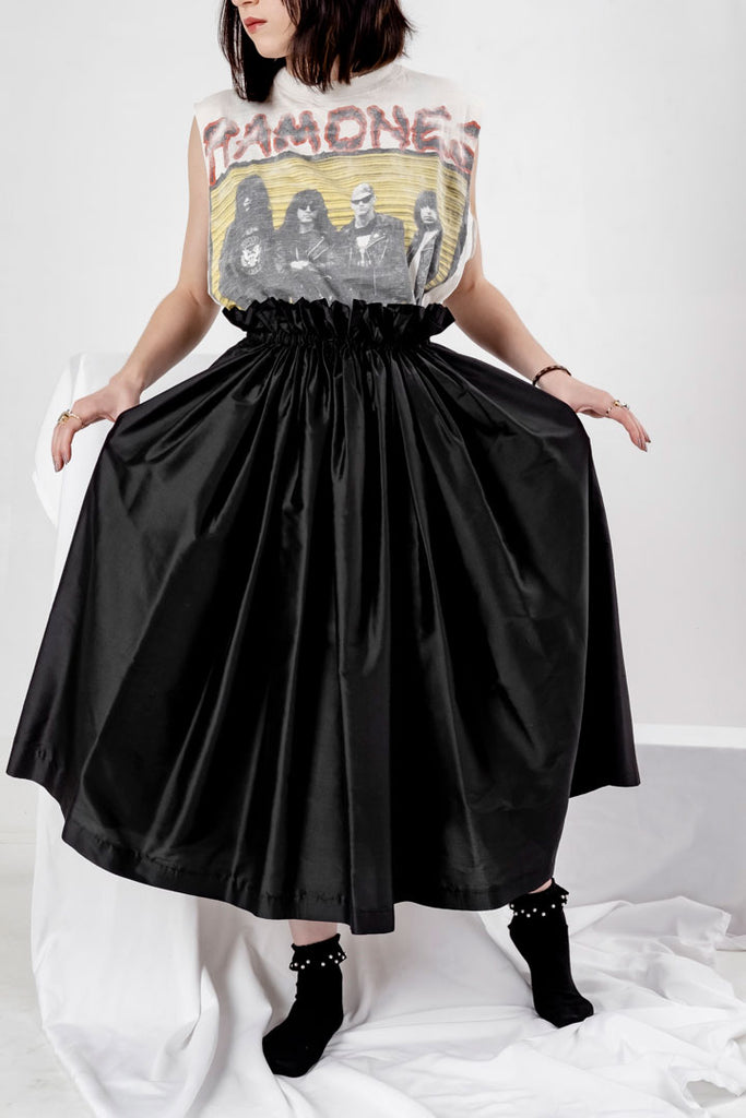 Seta Skirt Soul Black