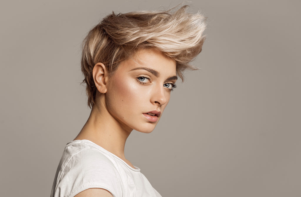 Amp Up The Volume In Your Short Hair Style