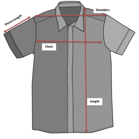Men's Shirt for sizing