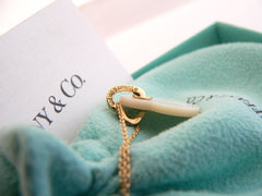 Tiffany Co Gold Mother Pearl Heart Necklace Guide