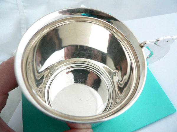 Tiffany & Co Silver Teddy Bear Toy Baby Child Cup Mug Rare Heirloom Gift Bag