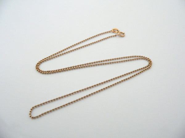 14K Gold Bead Chain Necklace for Pendants Charms Gift Love Statement
