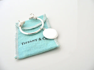 Tiffany & Co Silver Bull Bear Finance Keyring Key Ring Chain Finance Stocks Gift