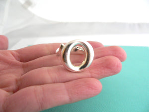 Tiffany & Co Sterling Silver Sevillana Ring Band Sz 5 Rare Love Gift