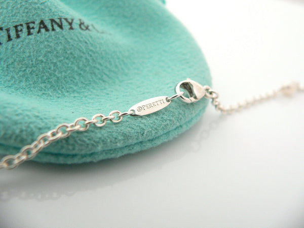 Tiffany & Co Silver Peretti Pearls by the Yard Necklace Pendant 36 Inch Gift
