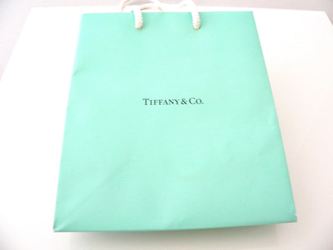Tiffany & Co Shopping Bag Jewelry Presentation Gift Bag Blue Bag
