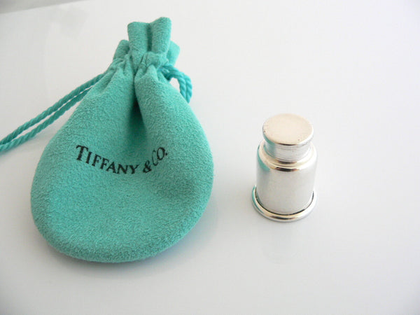Tiffany & Co Silver Milk Can Pill Box Case Trinket Container VERY Rare Gift