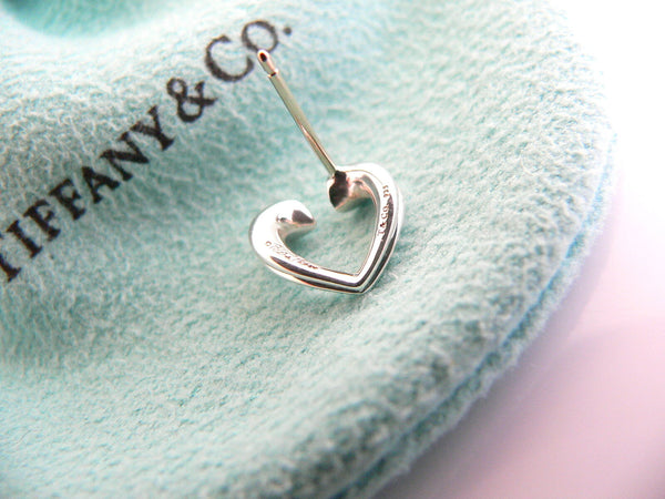 Tiffany & Co Silver Picasso Tenderness Heart Hearts Earrings Studs Gift Love