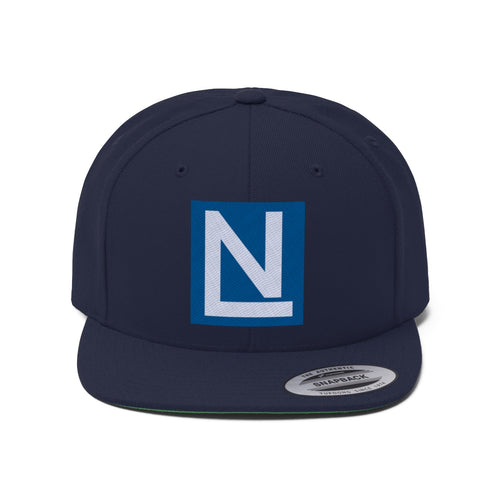 Nate Austin Simple Logo Unisex Flat Bill Hat