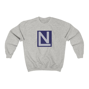 Nate Austin Simple Logo Unisex Heavy Blend™ Crewneck Sweatshirt