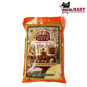 India Gate Golden Sella Basmati Rice 5 kg