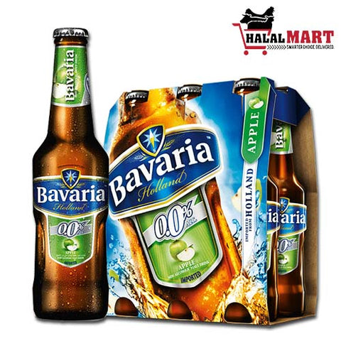 Bavaria Non-Alcoholic Beer Apple 6X330ml