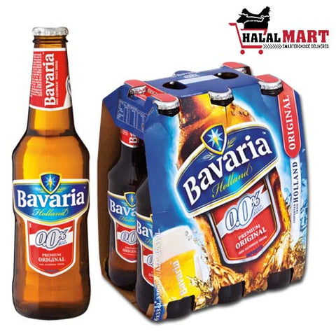 Bavaria Non-Alcoholic Beer Original 6X330ml