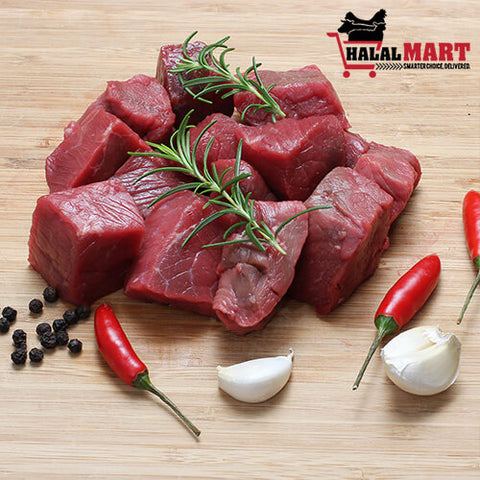 Image of Diced Beef (Boneless) 1 kg
