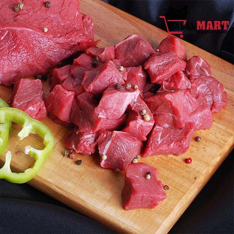 Lean Boneless Beef Pieces 1 kg