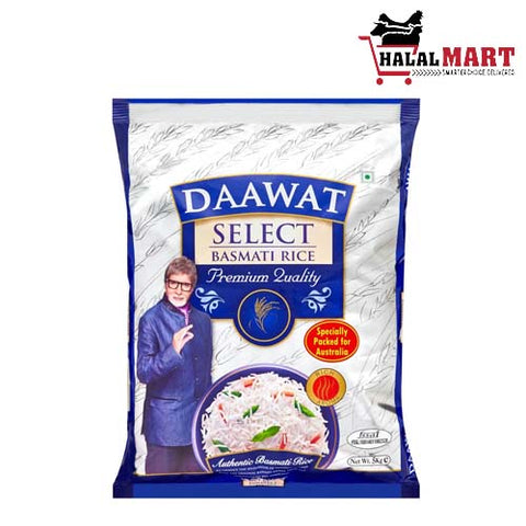 Daawat Select Basmati Rice 5 kg