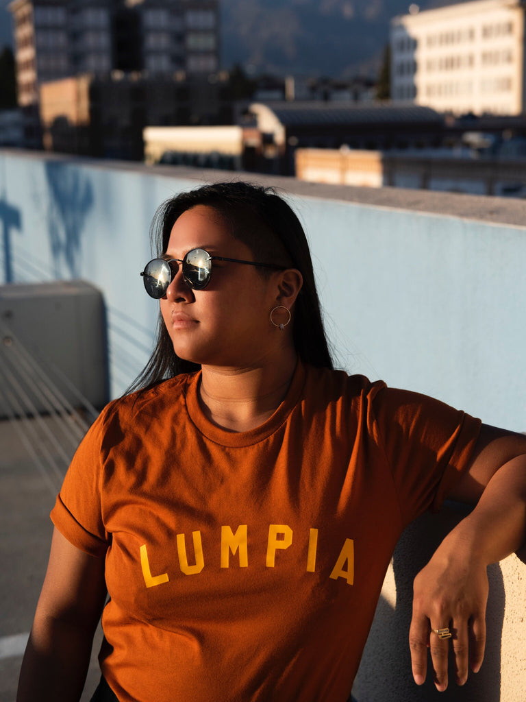 Woman in Lumpia Tee