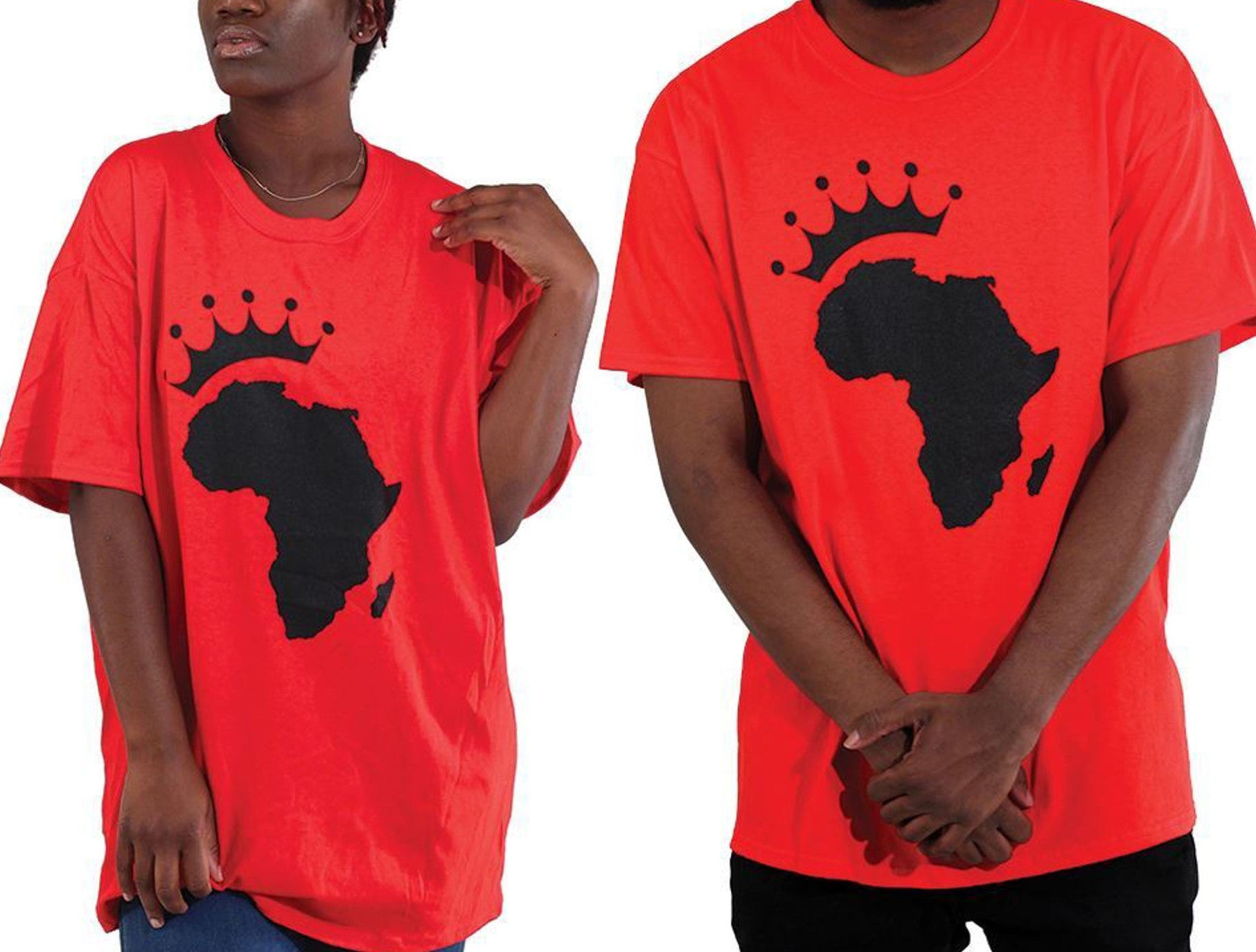 Unisex African Royalty T-Shirt King and Queen - Edy's Treasures