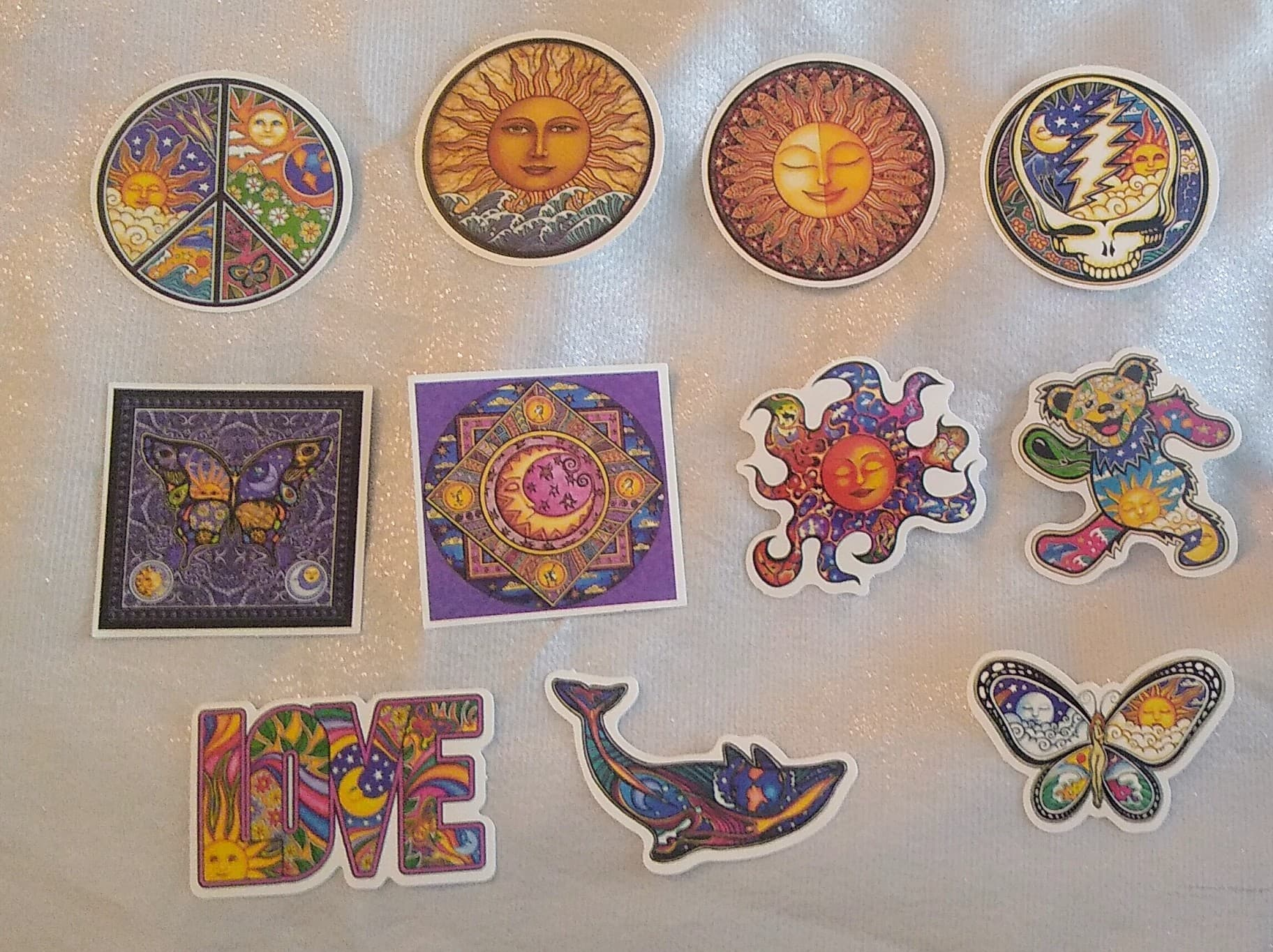 11 Colorful Bohemian Sticker Pk